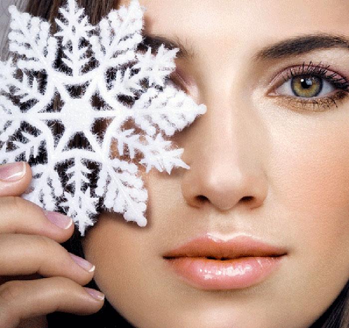 Правильный уход за кожей лица в зимний период